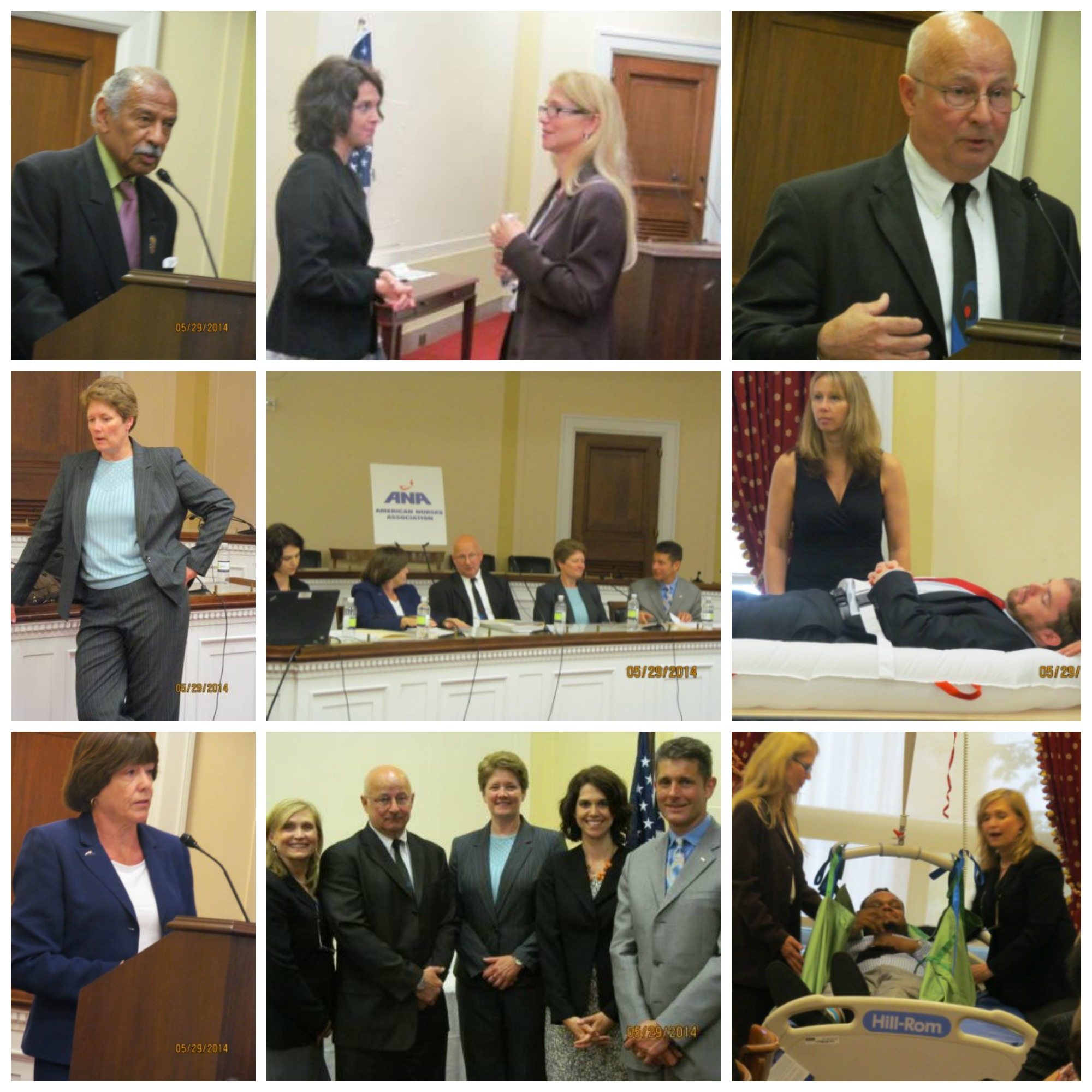Congressional Meeting Collage 5-28-14
